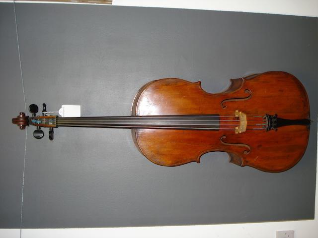 A Bohemian Cello circa 1850 (3)