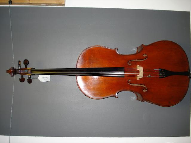 A French Cello, Mirecourt, circa 1900 (2)