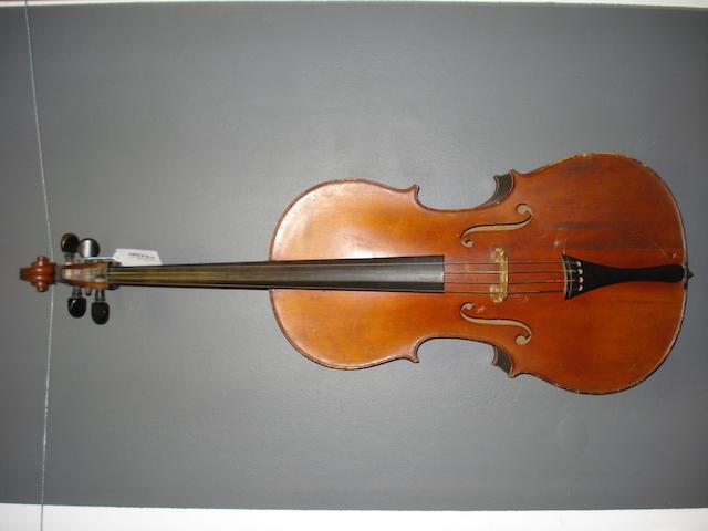 A Mittenwald Cello  circa 1900 (2)