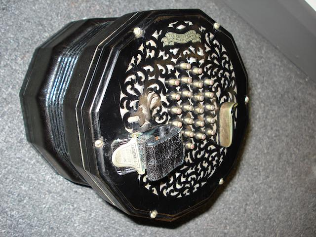 A Twelve Sided Concertina by Lachenal & Co, London, (2)