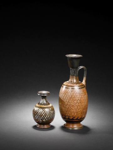 Two Gnathian ware pottery vessels 2