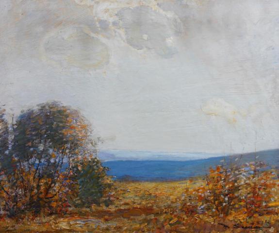 Mark Senior (British, 1864-1927) 'Autumn Sunlight'