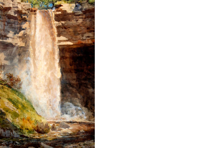 Sir Edward John Poynter, PRA RWS (1836-1919) Hardraw Force