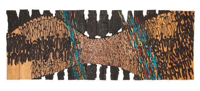 El Anatsui (Ghanaian, born 1944) 'Popular Vision'