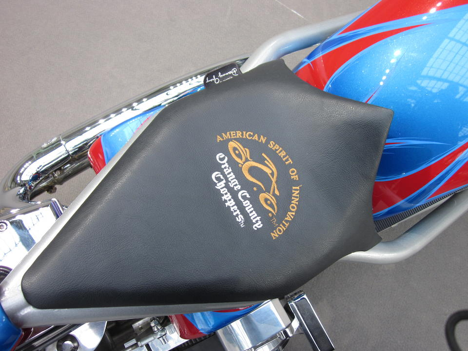 Only 79 miles (approximately 127 kilometres) from new,2005 Orange County Chopper 'American Spirit of Invention' Frame no. 129RCV2G95R170300 Engine no. 131