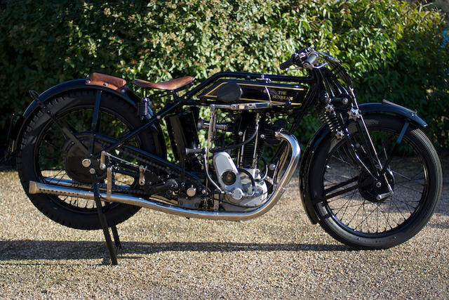 c.1929 Sunbeam 493cc TT Model 90 Frame no. E1127 Engine no. NN4040