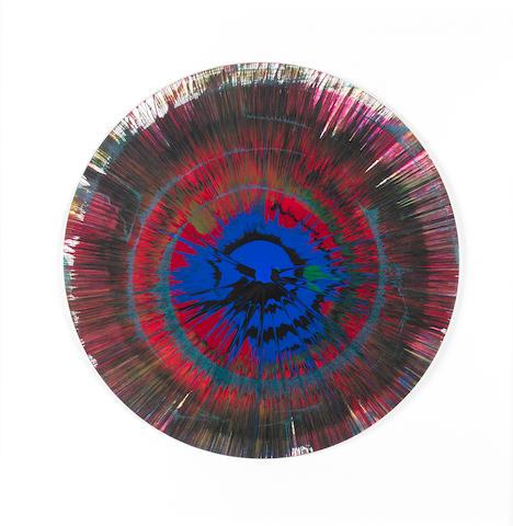 Damien Hirst (British, born 1965) Spin Painting, 2005 45cm diameter