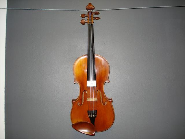 A French Violin by A. Dieudonne, Mirecourt, 1938 (1)