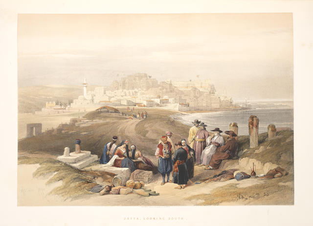 ROBERTS (DAVID) The Holy Land, Syria, Idumea, Arabia, Egypt & Nubia. From Drawings Made on the Spot by David Roberts, With Hisorical Descriptions by the Revd George Croly, 6 vol.