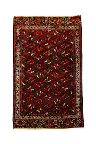 A Yomut carpet West Turkestan, 331cm x 204cm