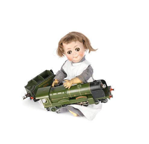 Rare Kammer & Reinhardt/S&H 131 bisque head 'Googly' doll
