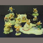 A collection of Royal Doulton Brambly Hedge figurines