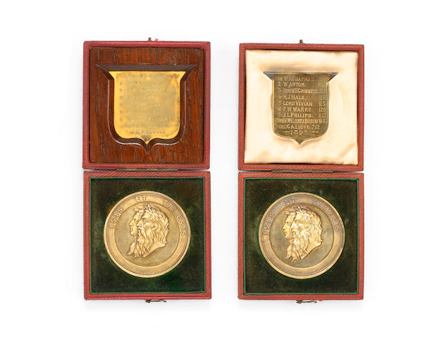 An important collection of Rowing medals and ephemera relating to the Warre family of rowers specifically Felix Walter Warre (1879-1953) a lot.