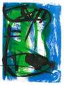 Peter Lanyon (British, 1918-1964) A Cornish landscape Lithograph in colours, 1958, signed, dated and numbered 49/60 in pencil, 485 x 380mm (19 1/8 x 15in)(I)