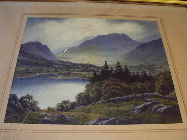 Edward H. Thompson (British, 1879-1949) 'Grasmere Lake, Dunmail Raise'