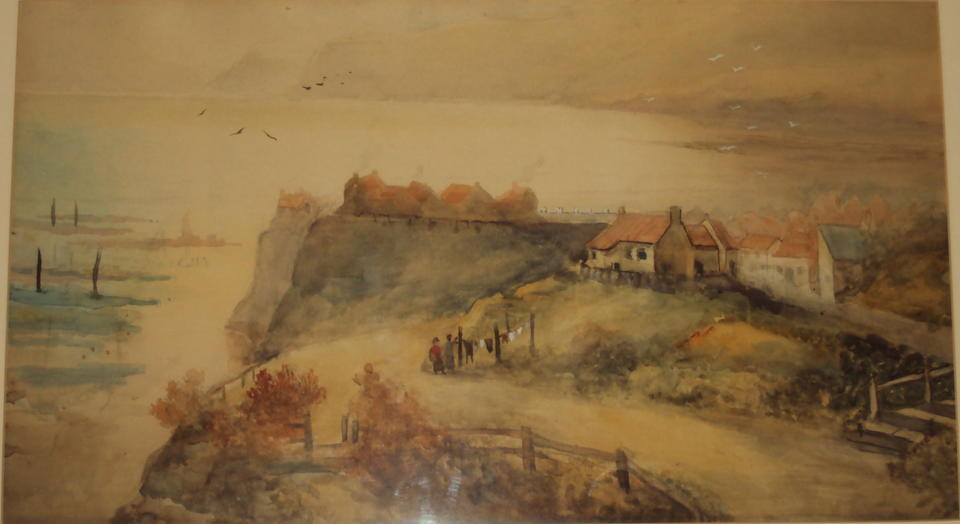 C. A. Weatherill (British School, circa 1919) A view of Whitby, and another of Robin Hood Bay, a pair