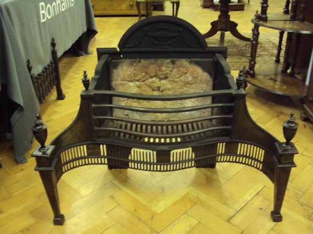 An Adam-style fire grate