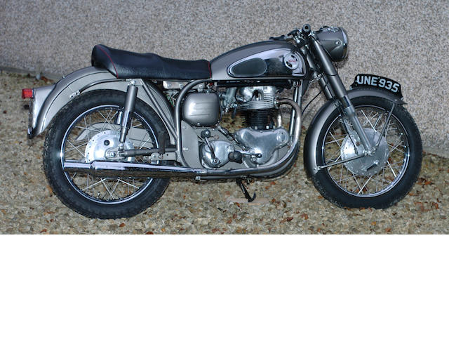 1957 Norton 650SS/99 Dominator Special  Frame no. 74215 Engine no. 119697
