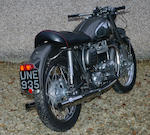 1957 Norton 650cc Model 99 Dominator Frame no. 74215 Engine no. 119697