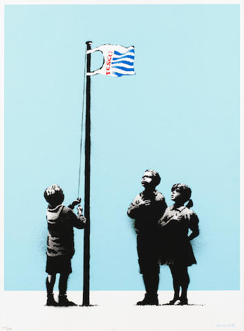Banksy (British, born 1975) 'Very Little Helps'