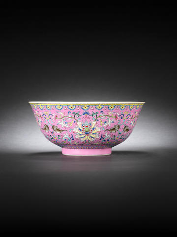 Jiaqing mark and period 'shuangyu' bowl