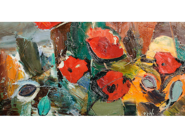 Kenneth Webb (Irish, born 1927) 'Field Poppy'