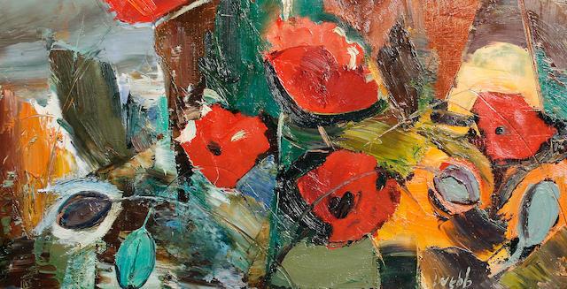 Kenneth Webb (Irish, born 1927) 'Field Poppy'
