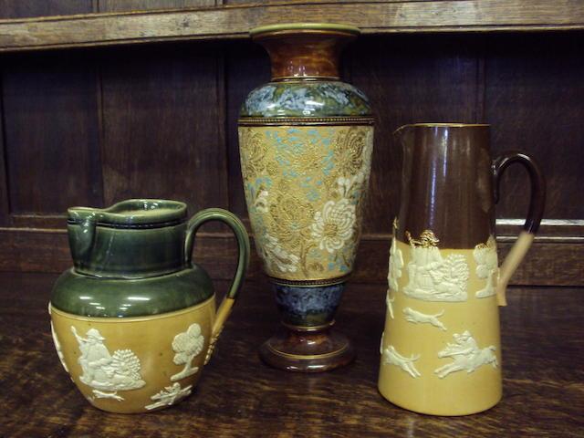 A collection of Royal Doulton wares