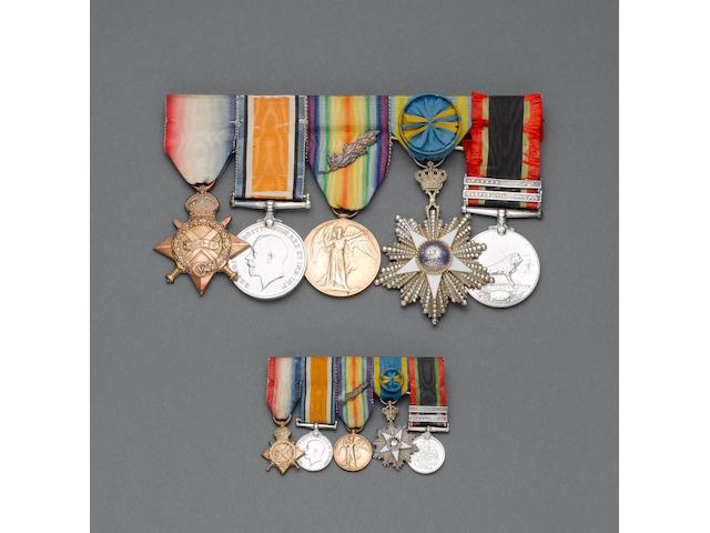 Five to Major J.L.Garstin, Army Service Corps,