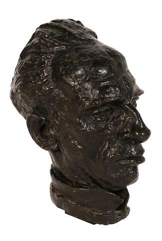 Sir Jacob Epstein (British, 1880-1959) Josef Holbrooke 28 cm. (11 in.) high