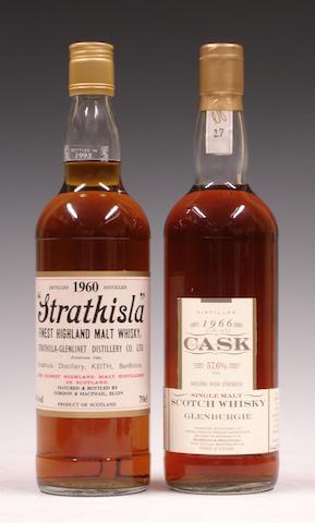 Strathisla-1960Glenburgie-1966