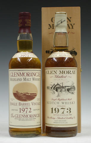 Glenmorangie-1972Glen Moray-18 year old-1973