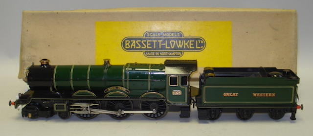 Bassett-Lowke Special Order H/5618 electric Great Western 4-6-0 'King John' locomotive and tender