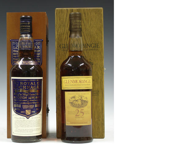 Royal Lochnagar Selected ReserveGlenmorangie-25 year old