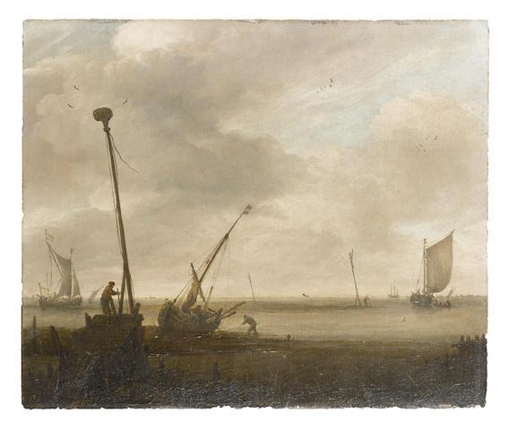 David Kleyne (Dutch, 1753-1805) Low tide
