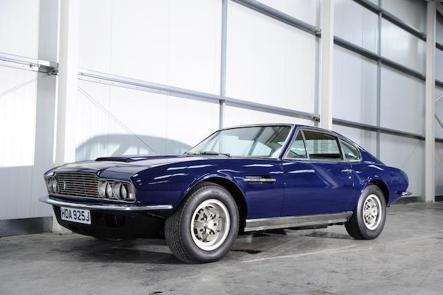 1971 Aston Martin DBS V8 Saloon  Chassis no. DBSV8/10131/R Engine no. V/540/138