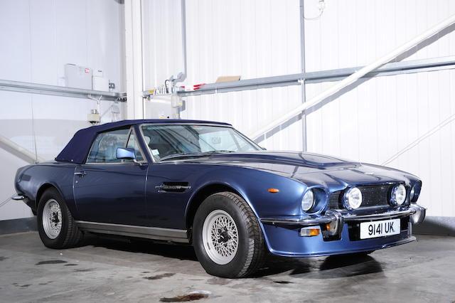 Bonhams 1980 Aston Martin V8 Volante Chassis No V8 Cor 15144 Engine No V 540 5144 S