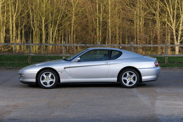 One lady owner from new,1998 Ferrari 456GTA Coupé  Chassis no. 110396 Engine no. to be advised