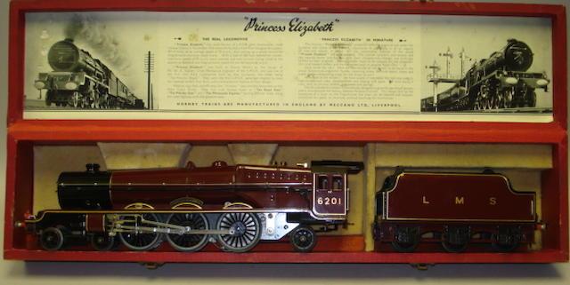 Hornby Series LMS 'Princess Elizabeth' 4-6-2 locomotive and tender