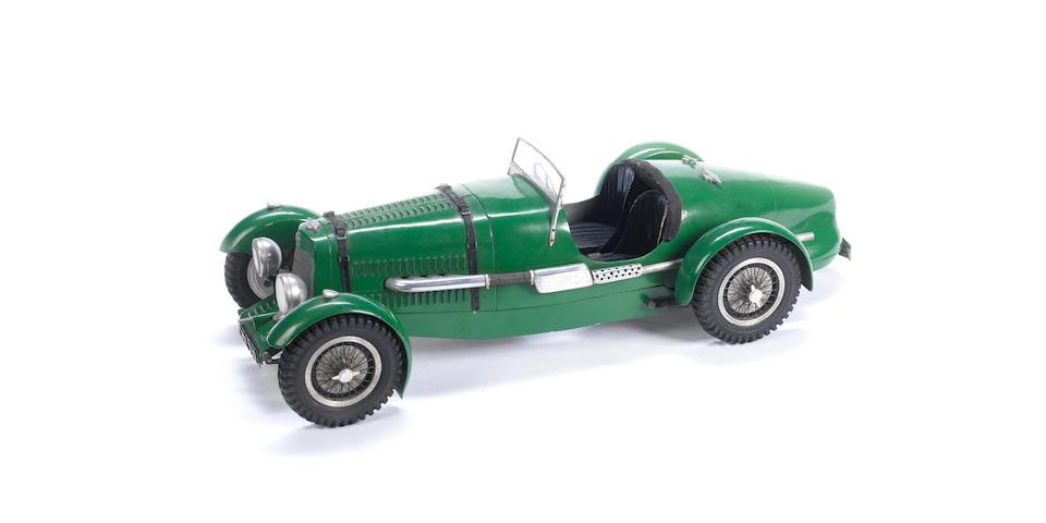 An Aston Martin Ulster pylon racer,