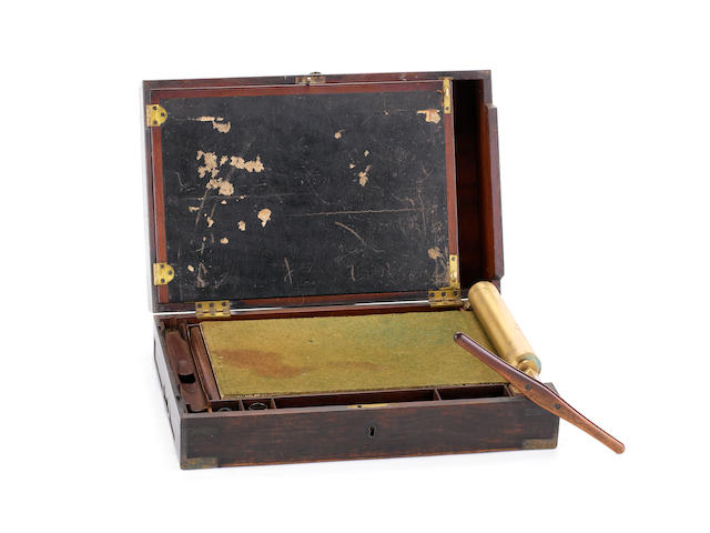 James Watt and Co. -  Portable letter-copying machine,  circa 1780,