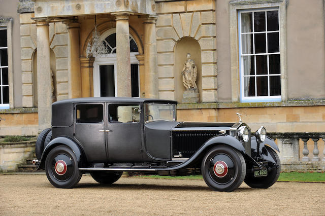 1929 Rolls-Royce 40/50hp Phantom II Weymann Sports Saloon  Chassis no. 61XJ Engine no. TN75