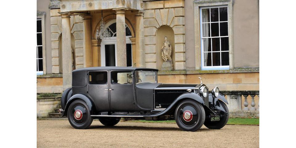 1929 Rolls-Royce 40/50hp Phantom II Weymann Sports Saloon  Chassis no. 61XJ Engine no. TN75