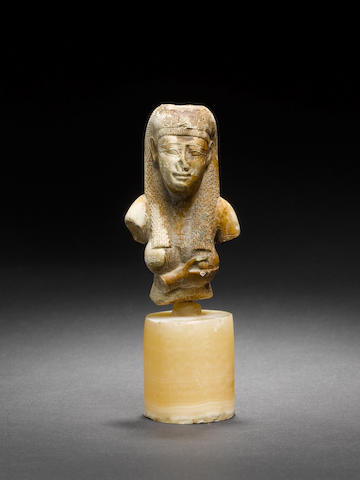 An Egyptian ?female bust