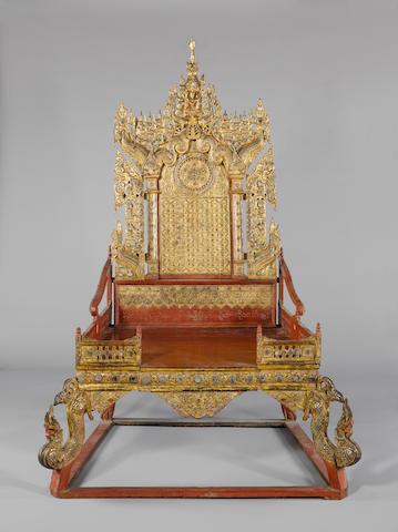 A pair of Burmese Thrones