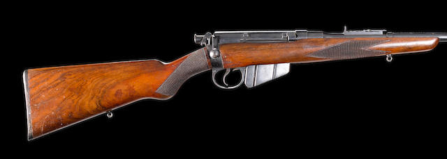 A .303 'Lee-Speed' sporting rifle by B.S.A. Co., no. 18069/42232