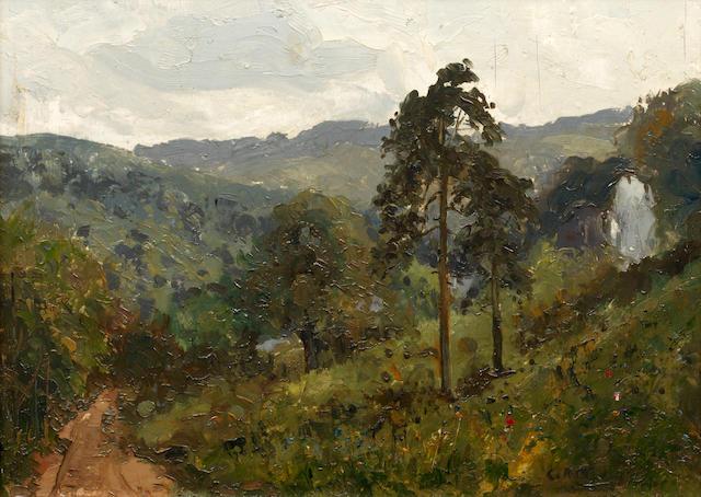 Campbell Archibald Mellon (British, 1876-1955) 'Symonds Yat'