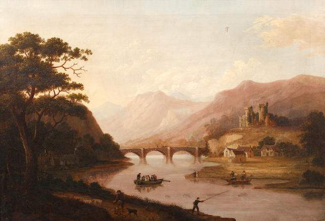 English School, circa 1850 The river ferry