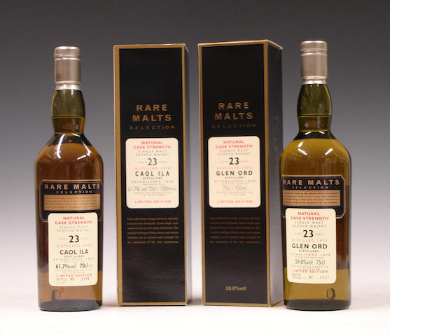 Caol Ila-23 year old-1978Glen Ord-23 year old-1973