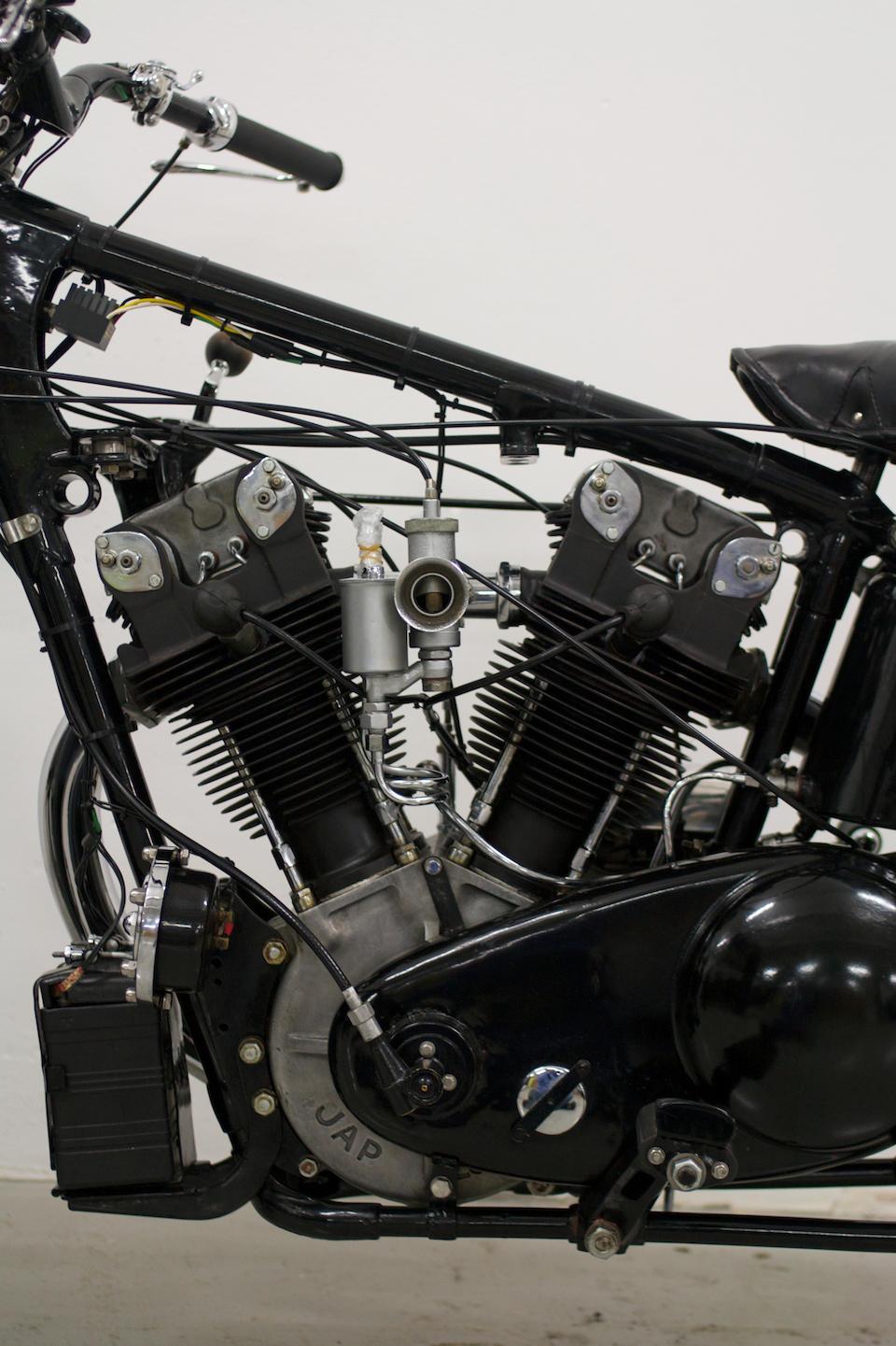 1934 Brough Superior 996cc SS100 Frame no. R1040 Engine no. 41230/S